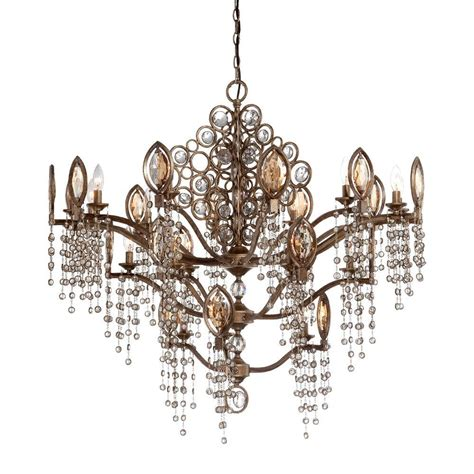 Metal Depot 4934 by Eurofase 21 Light Bronze Chandelier 25657 012 The