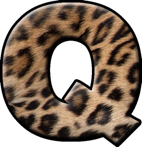 presentation alphabets fur letter q