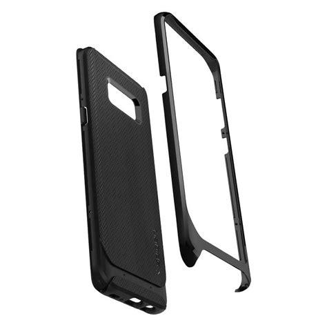 Spigen Neo Hybrid For Galaxy Note 8 Shiny Black Berkualitas spigen 174 neo hybrid 565cs21599 samsung galaxy s8 shiny black spaceboy