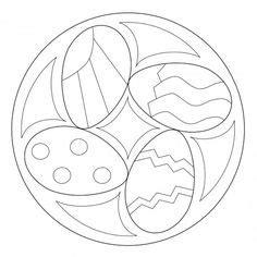 preschool easter egg mandala coloring 4 171 funnycrafts easter coloring pages celtic knot easter egg coloring