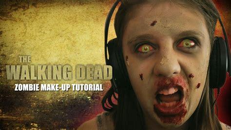 Tutorial Walking Dead | zombie makeup tutorial walking dead style easy to follow