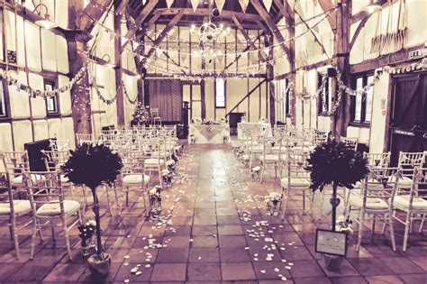 A Rustic and Romantic Barn Wedding at The Tithe Barn
