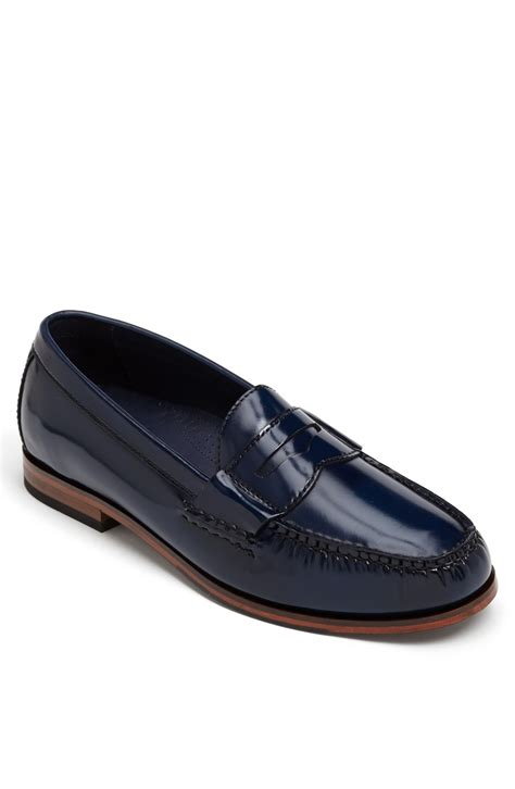 cole haan air pinch loafer cole haan pinch air loafer in blue for black