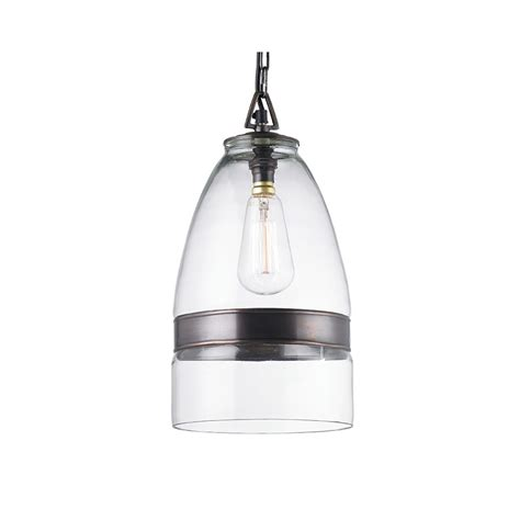 eh ostola clear glass pendant light