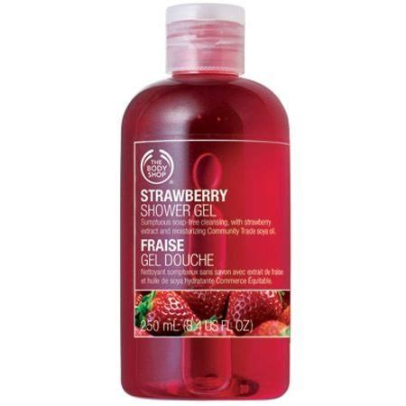 Nature Soap Shower Gel Strawberry strawberry fraise the shop 2012