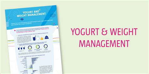 weight management facts 3 facts you should about yogurt and weight management