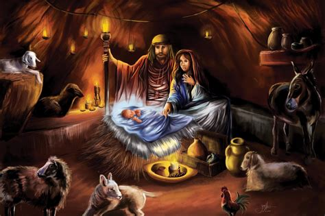 free christmas wallpapers of jesus in a manger jesus birth wallpaper wallpapersafari