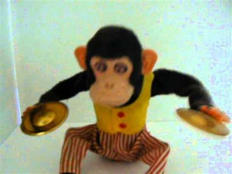 musical jolly clapping chimp monkey cymbals ck japan toy story  youtube
