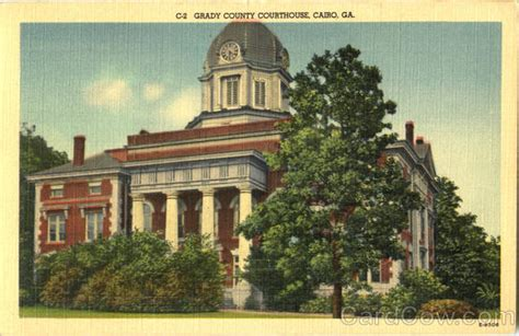 Grady County Court Records Grady County Court House Cairo Ga