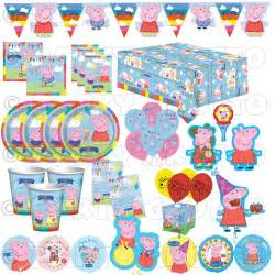 pig decorations peppa pig happy birthday supplies tableware