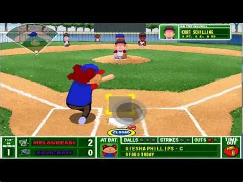 backyard baseball 2002 backyard baseball 2003 gameplay doovi