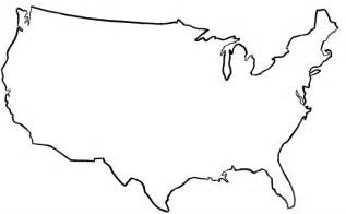 free us map outline vector united states vector outline clipart best