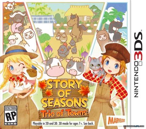 Kaset Nintendo 3ds Story Of Seasons Trio Of Towns story of seasons trio of towns 3ds news reviews