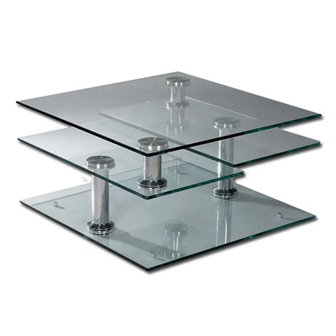 swivel coffee table tempered glass 4 tier swivel coffee table buy glass