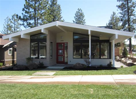 Small Mid Century Modern Homes | superb mid century modern home plans 8 mid century modern