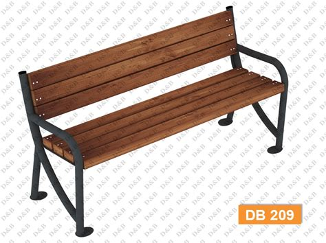 composite benches db 209 sitting benches outdoor trash can composite bench