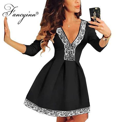 Dress Mini 311 fancyinn sleeve floral dress lace skater high waist mini dress us311