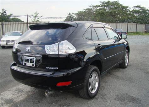 toyota harrier 2005 2005 toyota harrier pictures 2 4l gasoline ff