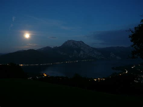 by night the mountain mountain lake at night 1 by holzonkel on