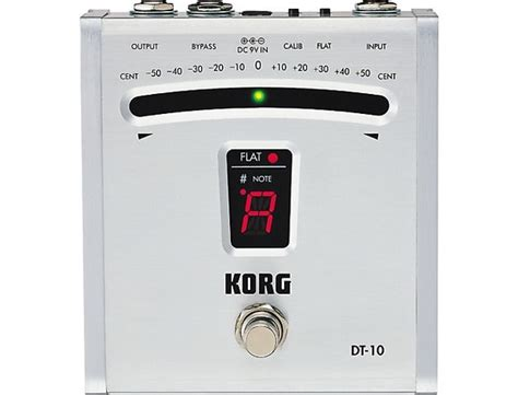 korg dt 10 digital pedal tuner reviews prices equipboard 174