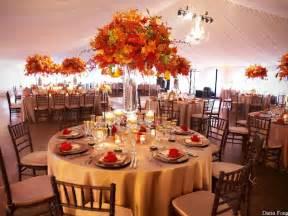 wonderful photos of tall fall wedding centerpieces wedwebtalks