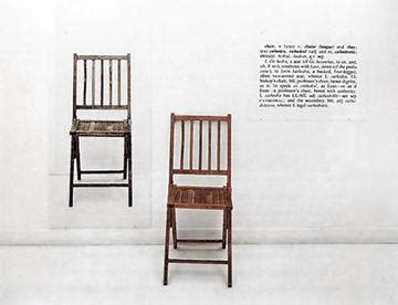 chair definition conceptual art wikipedia