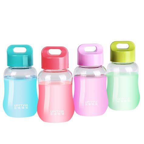 Murah The Years Snack Cup 6pcs 4 5oz upstyle mini small wide plastic sports travel water pocket bottle for food grade