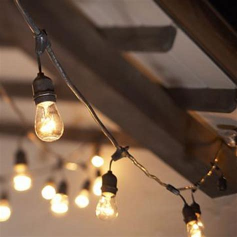 Edison Bulb Patio String Lights Rent Caf 233 Lights Edison Light Iowa Wedding Event Lighting