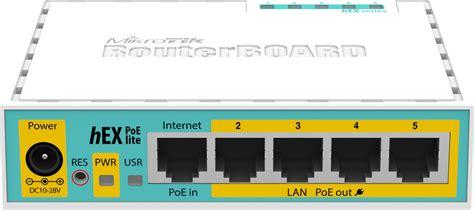 Mikrotik Routerboard Rb750upr2 With Poe Output mikrotik hex poe lite rb750upr2 skroutz gr