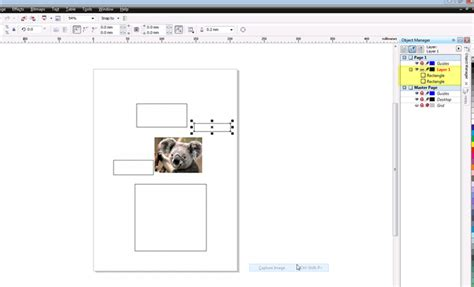 corel draw x4 object manager object manager not displaying all objects coreldraw