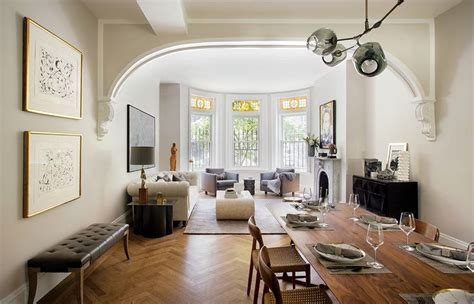 25 best ideas about brownstone interiors on