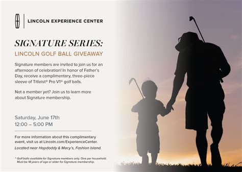 Golf Ball Giveaway - lincoln golf ball giveaway newport beach chamber of commerce