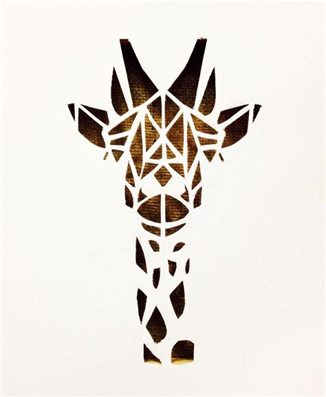 Tribal Pattern Giraffe | tribal pattern giraffe clipart best