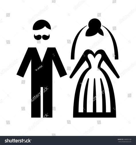 Wedding And Groom Vector by Wedding Groom Icon Vector Illustration Stock Vector