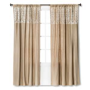 threshold scroll embroidery curtain panel target