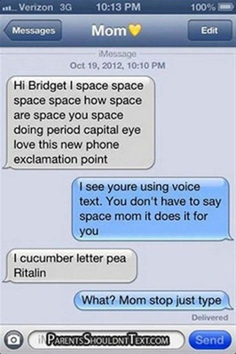 Funny Texts - 47 hilarious text messages sent between parents and kids