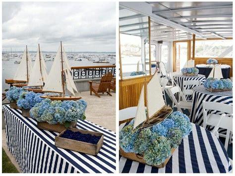 Nautical Wedding Decorations by Nautical Wedding Reception Decor Ideas Gilded Pins