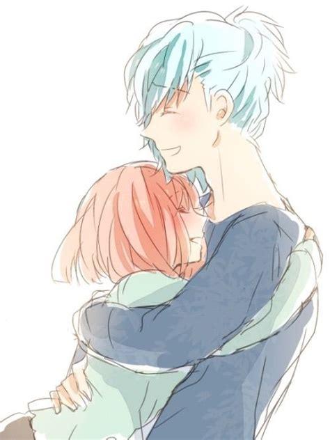 imagenes de amor anime tumblr abrazo anime amino