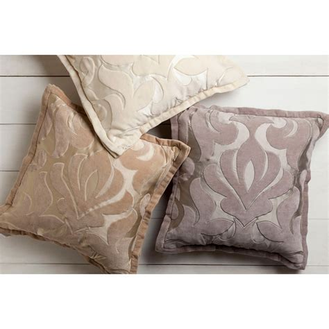 20 Inch Pillow Cover by Sweet Dreams Gray And Neutral 20 Inch Pillow Cover Surya Accent Pillows Throw Pillows Bedd
