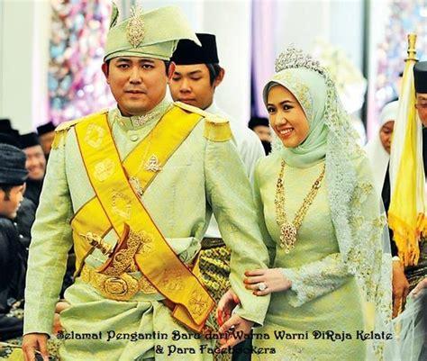 sultan kelantan kahwin gambar perkahwinan diraja tengku amalin aishah putri