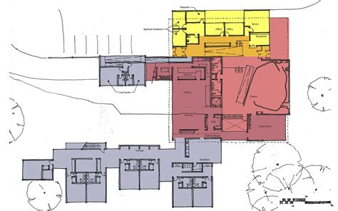 community center floor plans gallery of jesuit community center at fairfield university