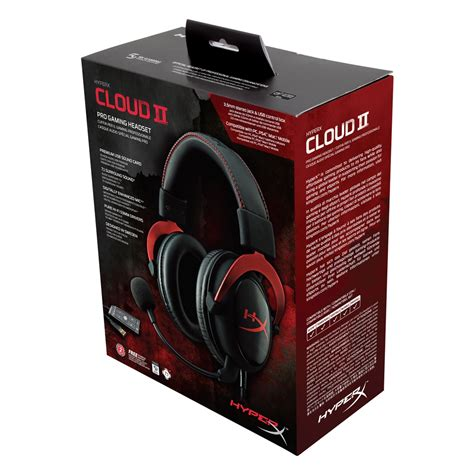 Headset Gaming Pro Kingston Hyperx Cloud Ii 1 headset hyperx cloud ii pro gaming khx hscp rd