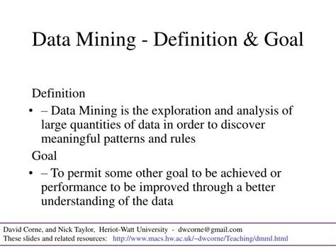 pattern mining definition ppt data mining and machine learning powerpoint