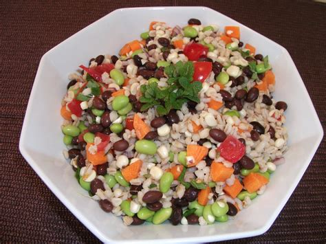 whole grains salad photo whole grain salad