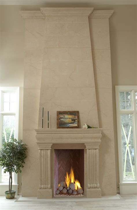 Made Rock For Fireplaces by Made Seamless Custome Fireplace Mantels