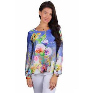 Home clothing tops april blue floral kimono style top