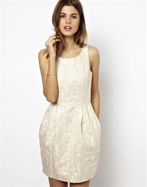 Dress Tulip asos a wear jacquard tulip dress in white lyst