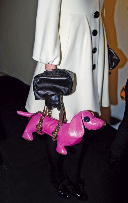 Other Designers Introducing The Lydia Bag By Heatherette by Introducing Moschino S Pound Of Pooches