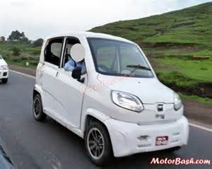 re bajaj new car bajaj re60 quadricycle spotted again pics galore
