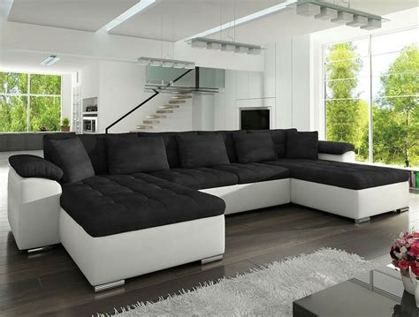Couches Bed by Corner Sofa Bed Wicenza Sleep Function Faux Leather Fabric